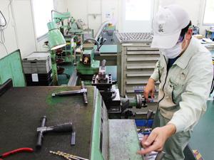 金属加工の写真